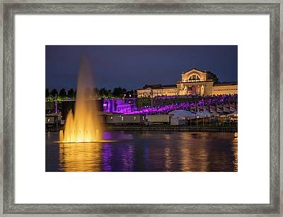 Fair St Louis At Forest Park Framed Print by Garry McMichael