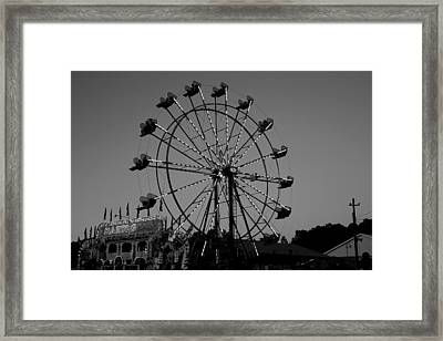 Fair Time Fun Framed Print