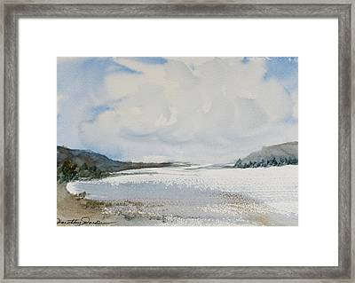 Fair Weather Or Foul? Framed Print