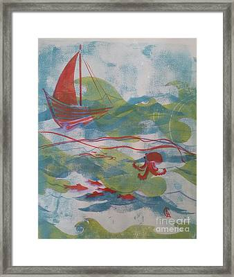 Fair Winds Calm Seas Framed Print