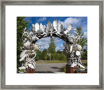 Fairbanks Arch Framed Print