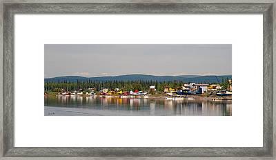 Fairbanks Float Pond  Framed Print