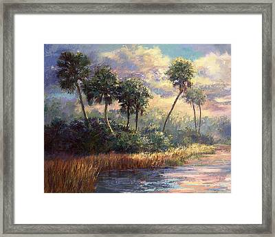Fairchild Gardens Framed Print