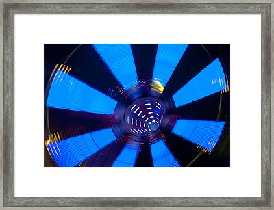 Fairground Abstract Vi Framed Print by Helen Northcott