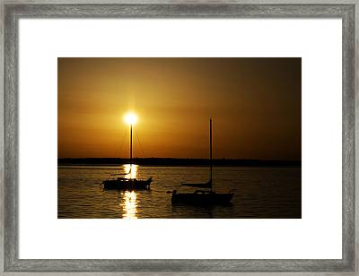 Fairhaven Star Framed Print