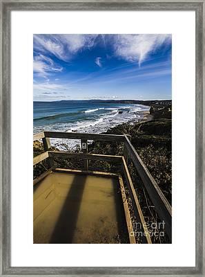 Fairhaven Surf Beach Framed Print