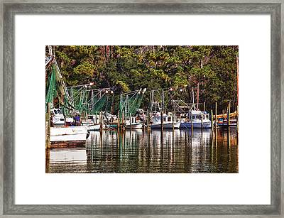 Fairhope Fleet Framed Print