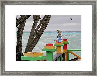 Fairies Can Dream Framed Print by Rosalie Scanlon