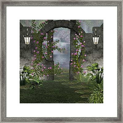 Fairies Door Framed Print