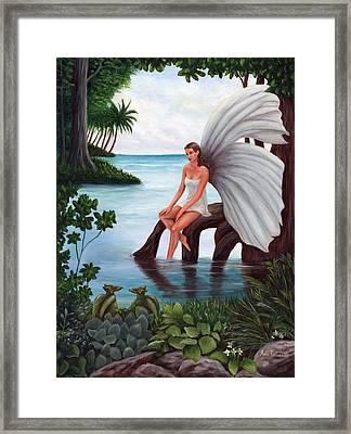 Fairies Glade Framed Print