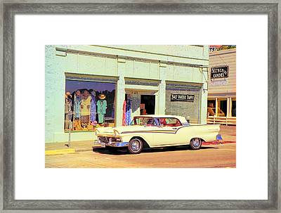 Fairlane 500 1957 Framed Print