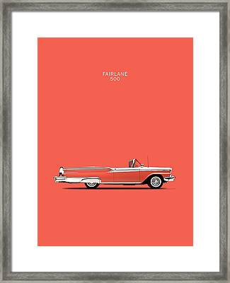 Fairlane 500 Framed Print