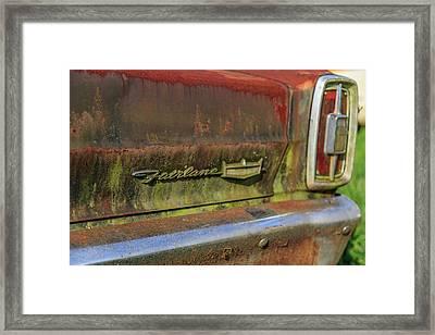 Fairlane Emblem Framed Print