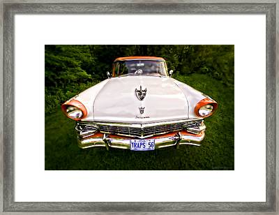 Fairlane Framed Print by Jerry Golab