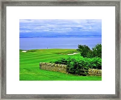 Fairmont St. Andrews - Hole 15 - Kittocks Course Framed Print