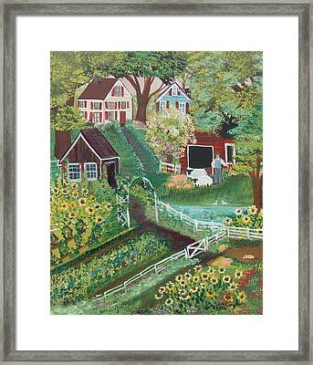 Fairview Farm Framed Print