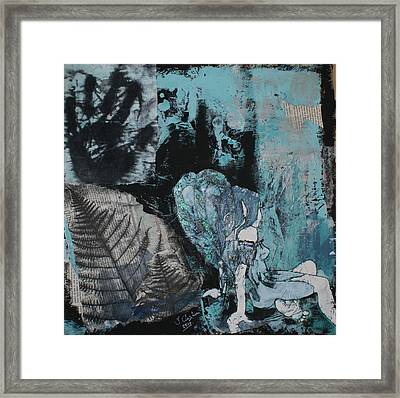Fairy 2 Framed Print by Joanne Claxton