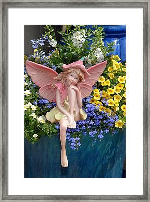 Fairy 86 Framed Print by Joyce StJames