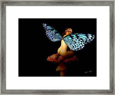 Fairy A Second Look Framed Print by Tray Mead