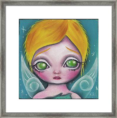 Fairy  Framed Print by Abril Andrade Griffith