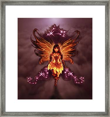Fairy Angel Framed Print by Rick Ritchie
