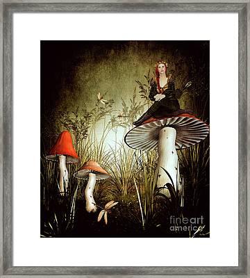 Fairy Archer Framed Print