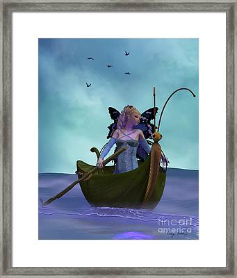 Fairy Barliecorn Framed Print by Corey Ford