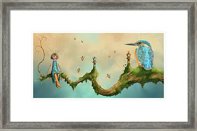Fairy Chess Framed Print