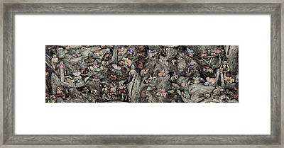 Fairy City Framed Print