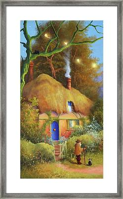 Fairy Cottage Framed Print
