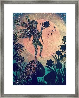 Fairy Dance Framed Print