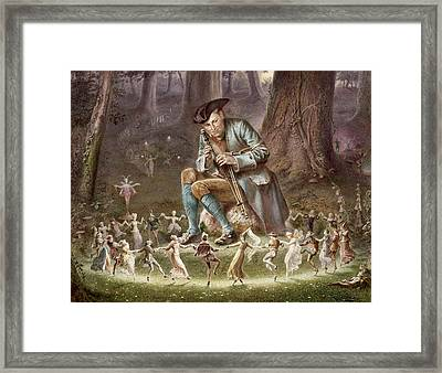 Fairy Dance Framed Print by William Holmes Sullivan