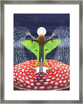 Fairy Dust Framed Print by Catherine G McElroy
