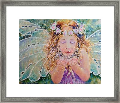 Fairy Dust Framed Print by Nicole Gelinas