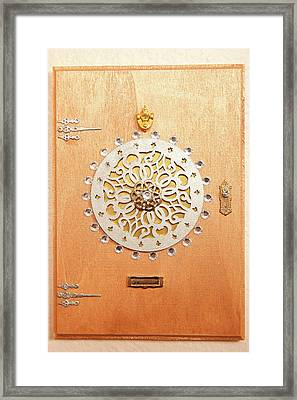 Fairy Emperor Door Framed Print