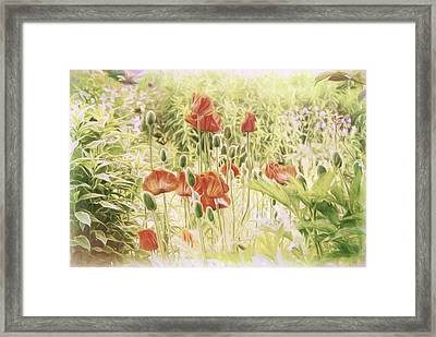 Fairy Garden 2 Framed Print by Marilyn Wilson