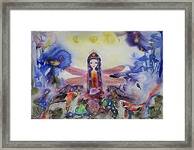 Fairy Garden  Framed Print