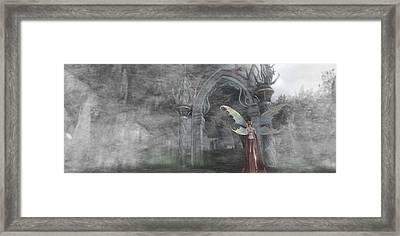 Fairy Gate Framed Print