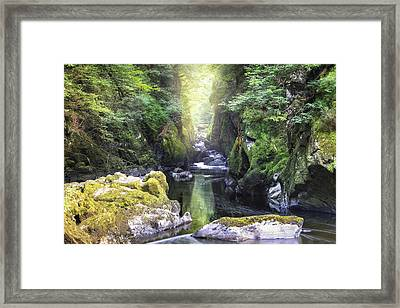 Fairy Glen - Wales Framed Print