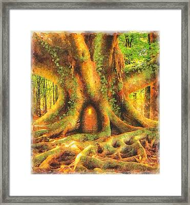 Fairy Home Framed Print