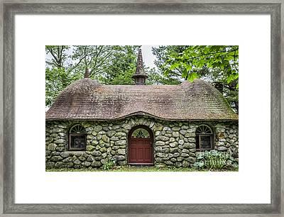 Fairy House Framed Print by Edward Fielding