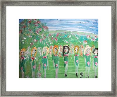 Fairy Irish Jig Framed Print