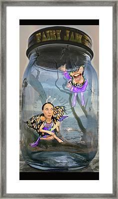 Fairy Jam Framed Print