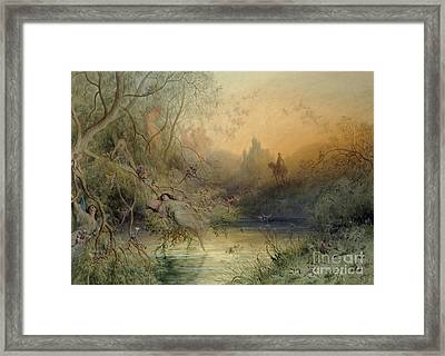 Fairy Land Framed Print by Gustave Dore