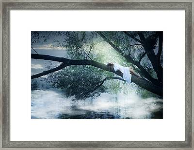 fairy Mermaid by Iuliia Malivanchuk Framed Print
