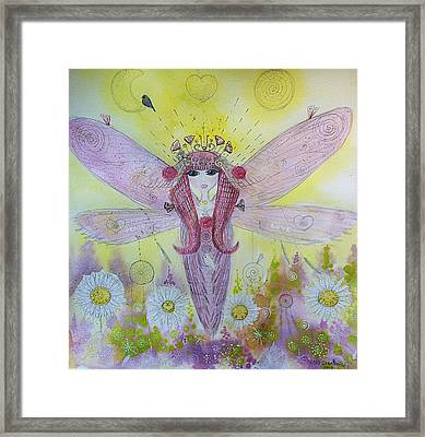 Fairy Messenger  Framed Print