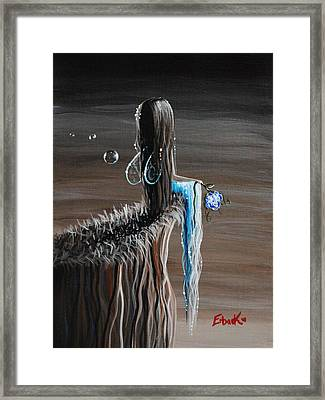 Fairy Paintings By Erback - A Forever Moment Framed Print by Shawna Erback