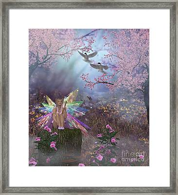 Fairy Patricia Framed Print by Corey Ford
