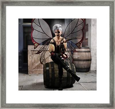 Fairy Piracy 1 Framed Print