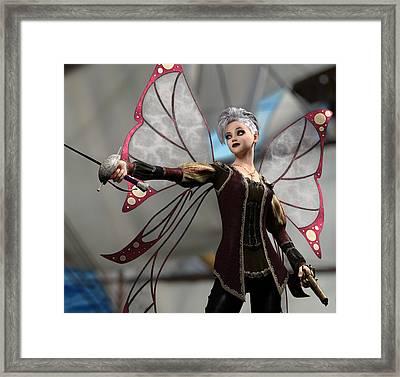 Fairy Piracy 2 Framed Print
